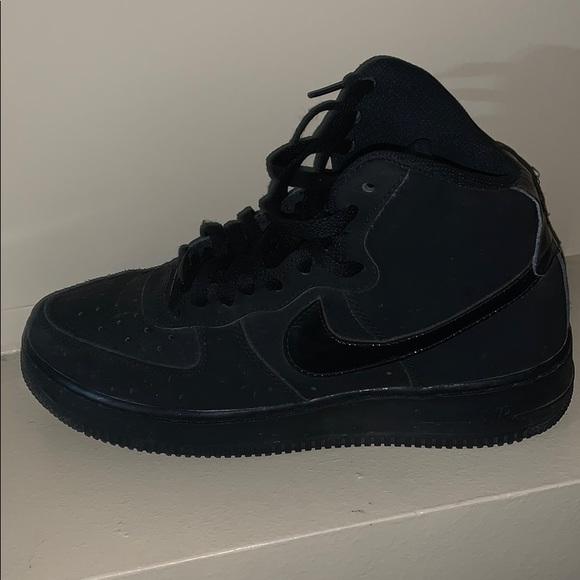 Nike Shoes   Black High Top G Fazos